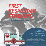 Now offering complimentary services for volunteer First Responders!