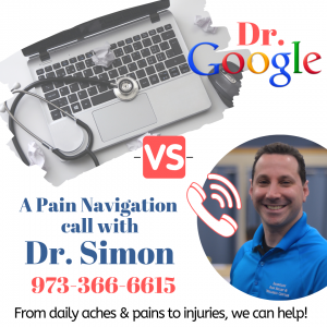 Have pain?  Step away from Dr. Google…