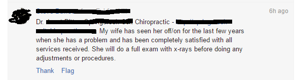 chiro blog comments